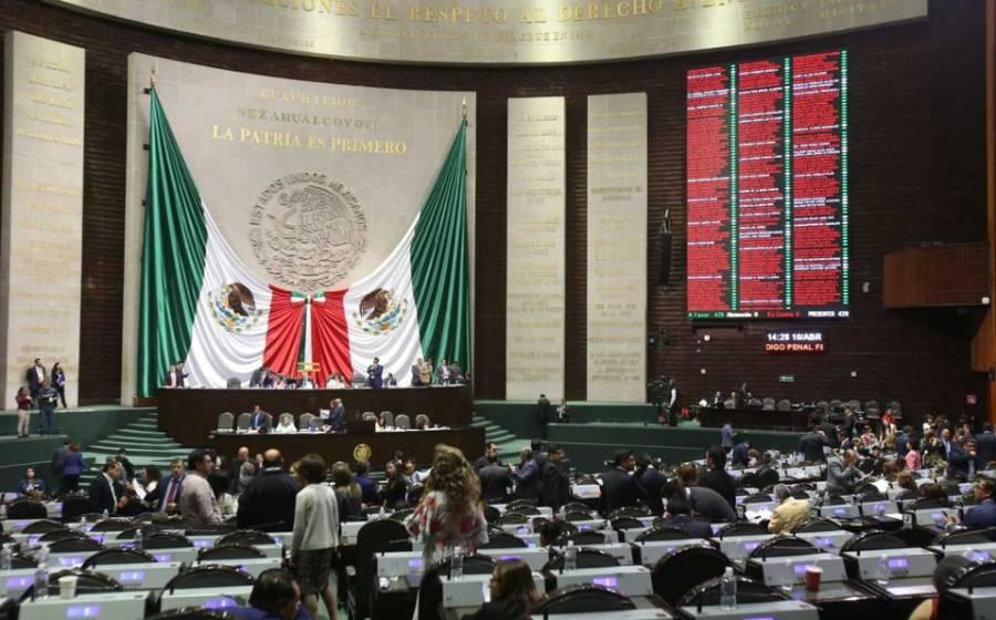 Recibe Cámara de Diputados iniciativa de AMLO sobre Bienestar