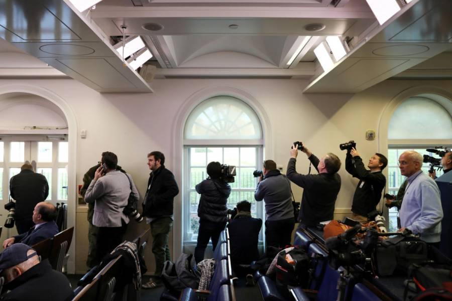 Levantan restricciones en la Casa Blanca tras presencia de nave sospechosa