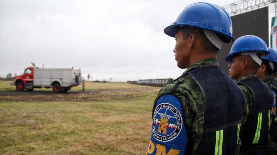 Dos pistas del aeropuerto de  Santa Lucía presentan fallas