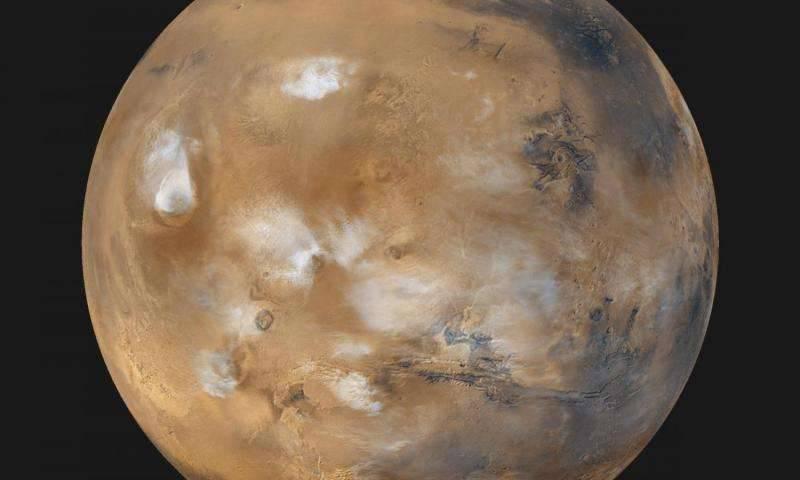 [Video] La NASA capta el movimiento de las nubes en Marte