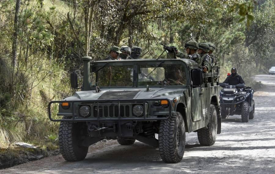 Atacan a elementos de la Guardia Nacional en Pueblo Nuevo, Guanajuato