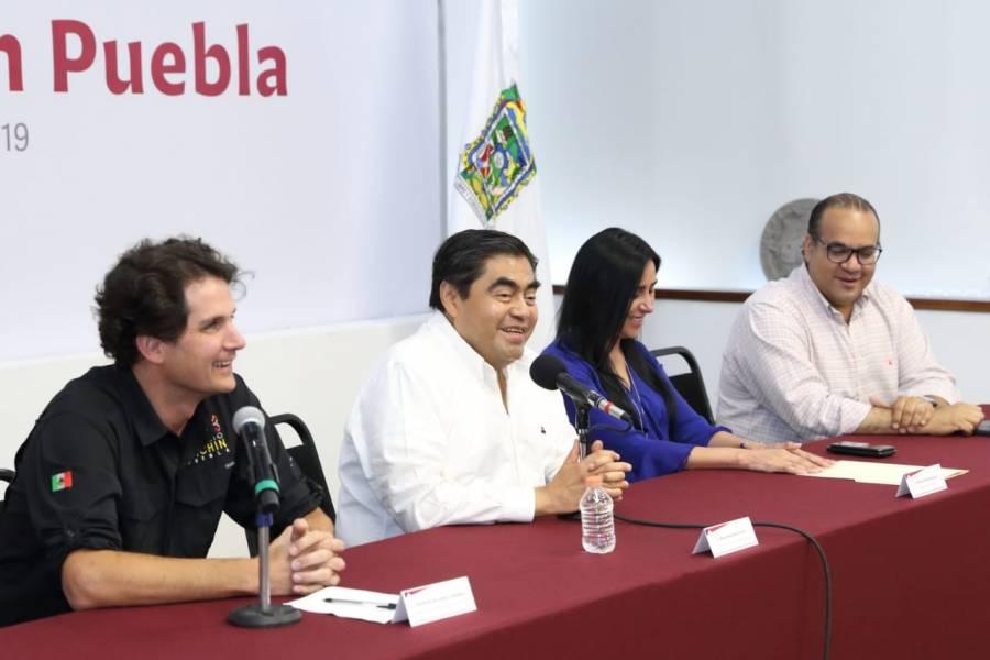 Miguel Barbosa Huerta  asegura espacios dignos para recreación en Puebla