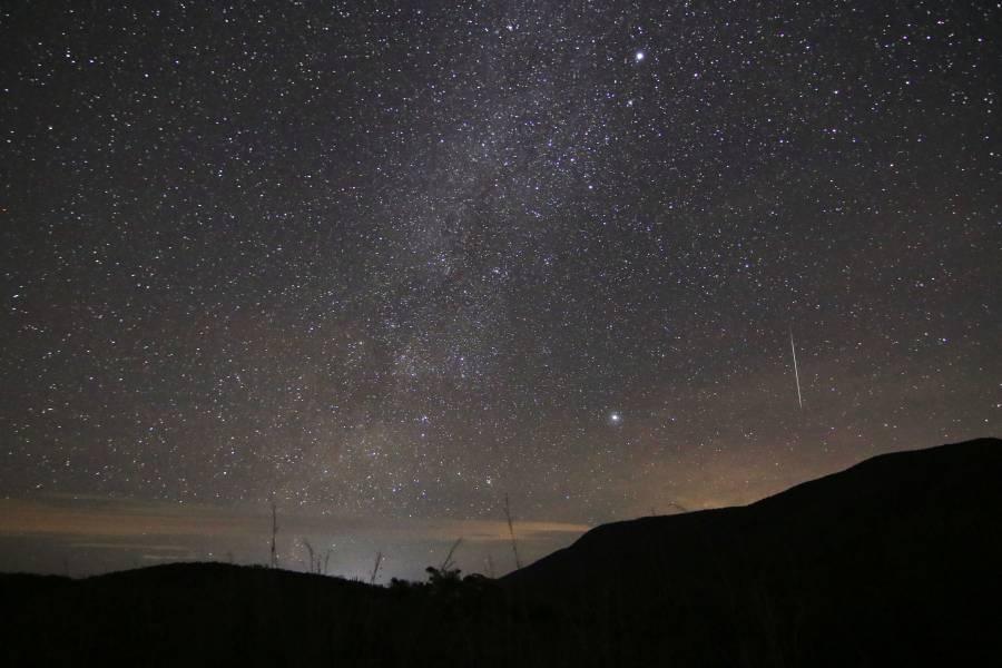 Será visible en México durante diciembre la lluvia de estrellas