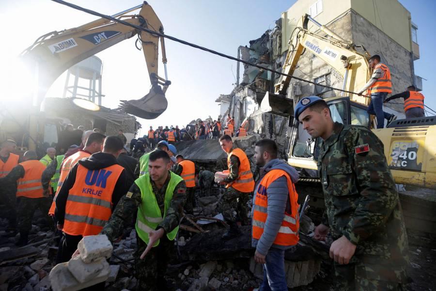 Terremoto de 6.4 grados remece Albania; hay al menos 13 muertos