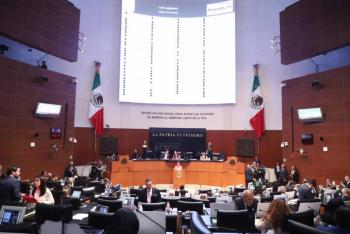 Senado turna a comisiones terna de candidatas a Corte