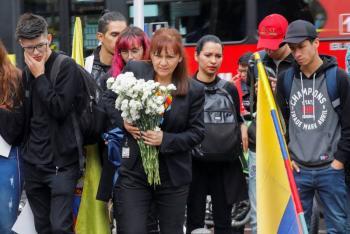 Intensificarán protestas en Colombia en honor a joven muerto