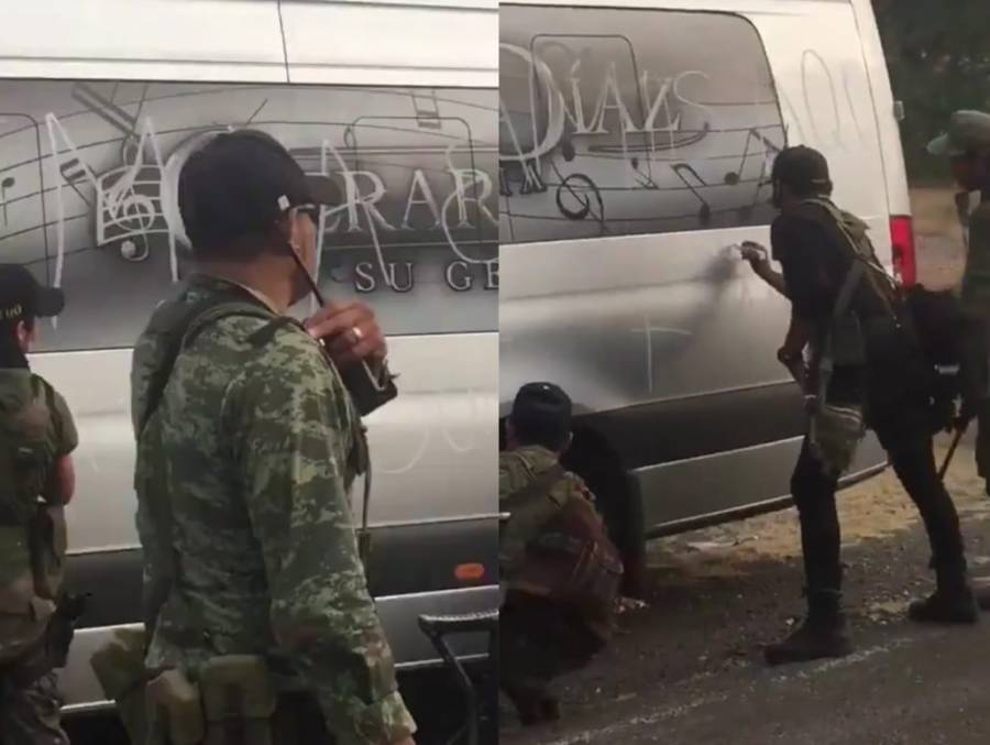 Sicarios anuncian su llegada con reten, en Michoacán