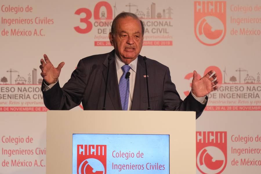 Carlos Slim dice México tiene