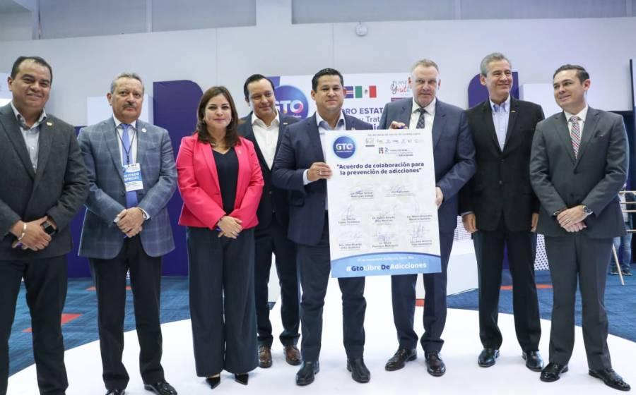 Gobierno de Guanajuato firma acuerdo para la Prevención de Adicciones