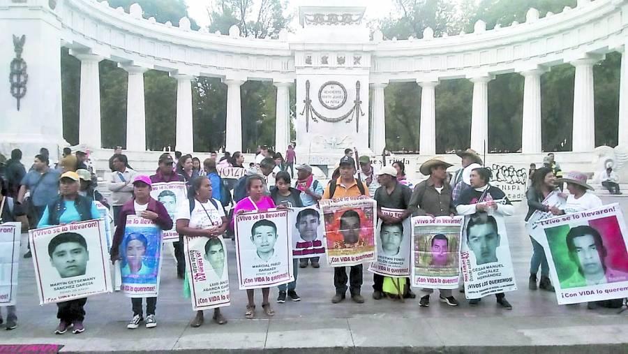 """Iguala nunca va a dejar de ser un crimen de Estado"""