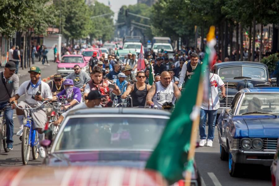 Esperan hoy a los capitalinos marchas, concentraciones y rodadas