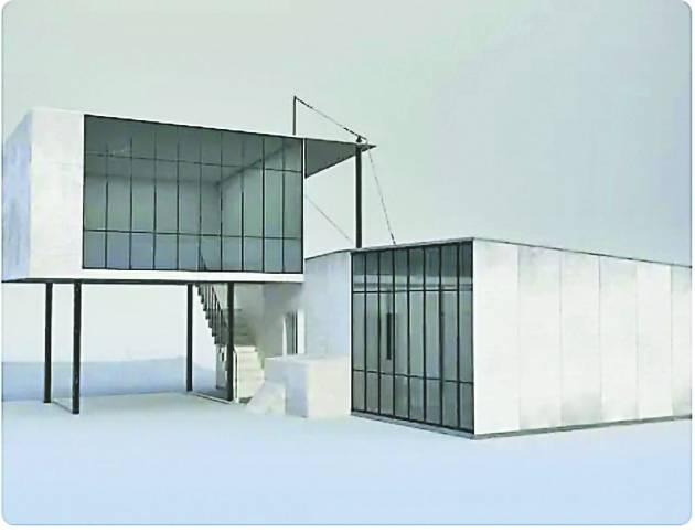 Google integra a su colección de arte edificios nunca realizados de la Bauhaus