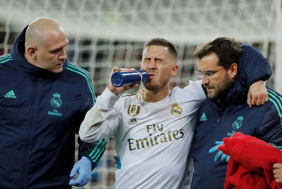 Hazard sufre una contusión, pero llegaría al clásico Madrid-Barcelona