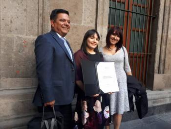 Alexa Moreno rompe las críticas y recibe el Premio Nacional del Deporte