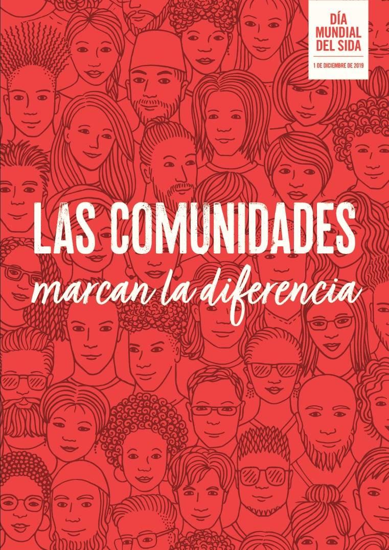 """""""Las comunidades marcan la diferencia"""", lema del Día Mundial del Sida 2019"""