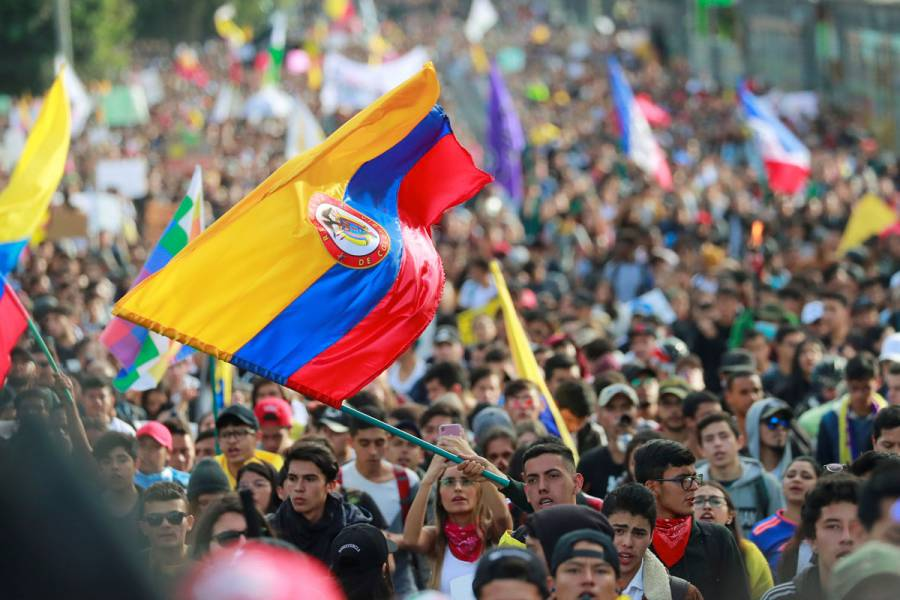 Sindicato convoca a una tercera huelga nacional en Colombia