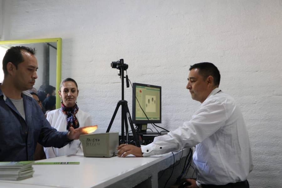 Se digitalizan trámites al interior de Centros Penitenciarios CDMX
