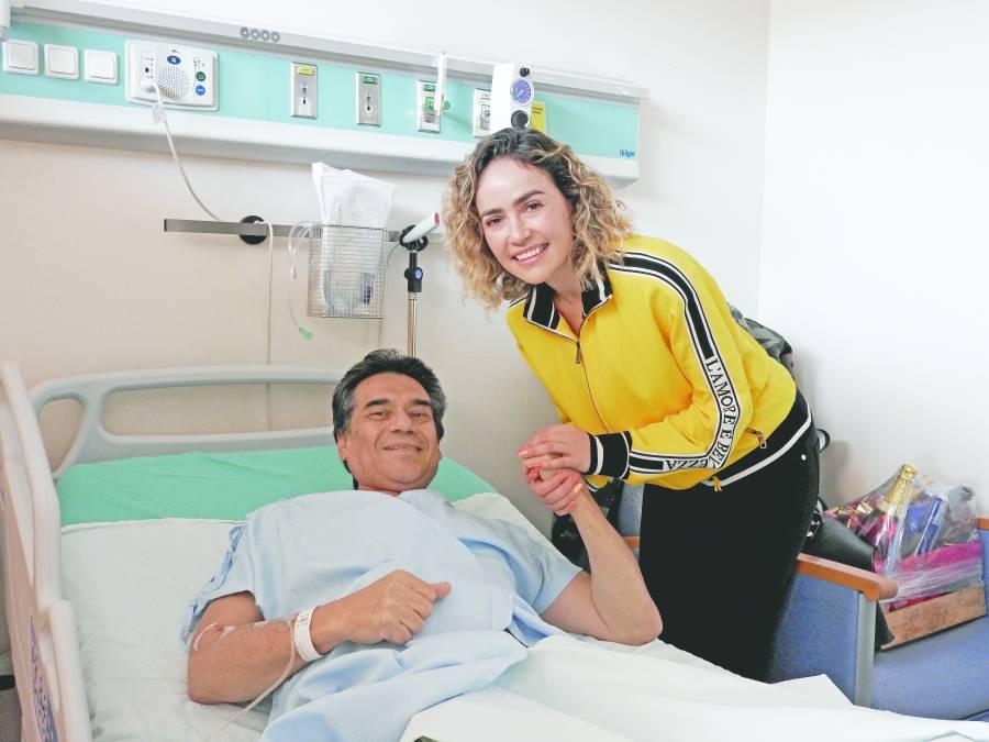 Pau Muro lleva felicidad al Instituto de Cancerología