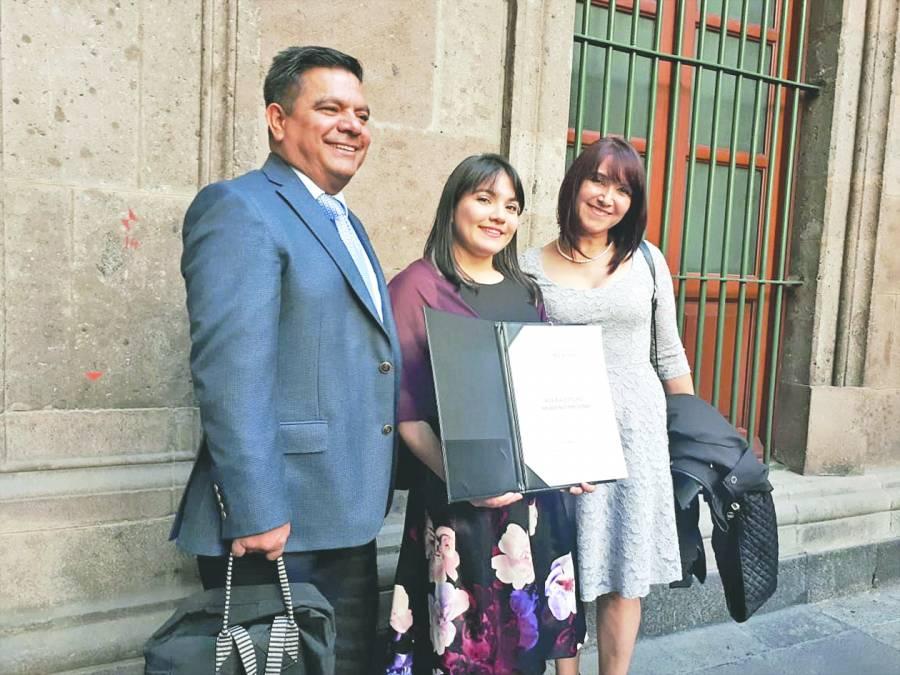 PREMIO NACIONAL DEL DEPORTE 2019 ALEXA MORENO