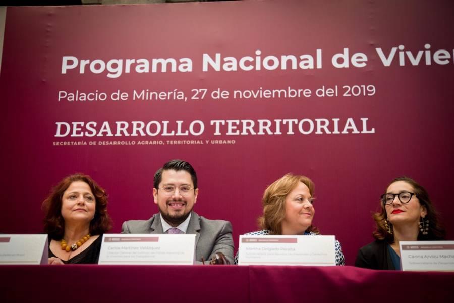 Infonavit alinea sus estrategias al PNV en beneficio de los trabajadores: Martínez Velázquez