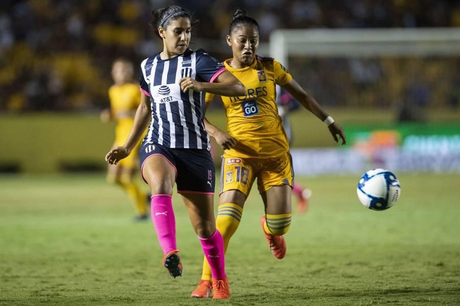 Por tercera ocasión, final de Liga Femenil será Tigres-Monterrey