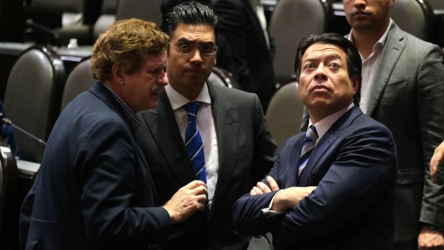 Niega Mario Delgado que diputados se incrementaran días de aguinaldo