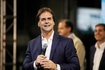 Lacalle Pou gana elecciones presidenciales de Uruguay