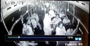 Con naturalidad asaltan a pasajeros en Santa Fe
