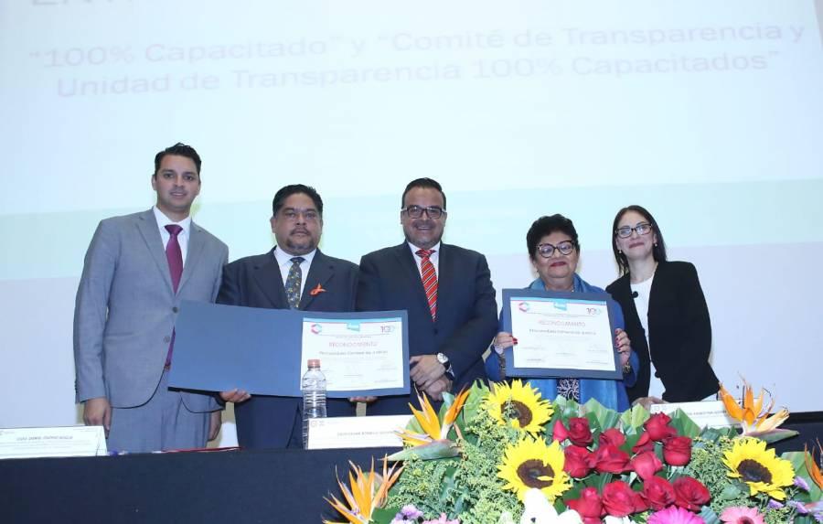 INFO reconoce labor de transparencia y capacitación en PGJ capitalina