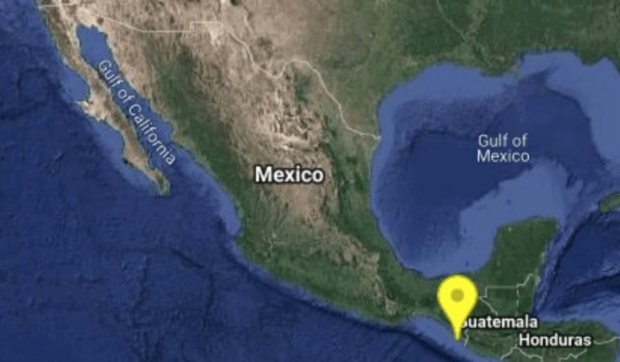 Varios sismos sacuden Chiapas y Oaxaca esta madrugada