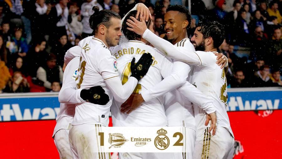 Alavés derrotado por el Real Madrid