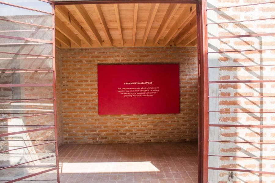 Con arte contemporáneo intervienen casa Nakasone