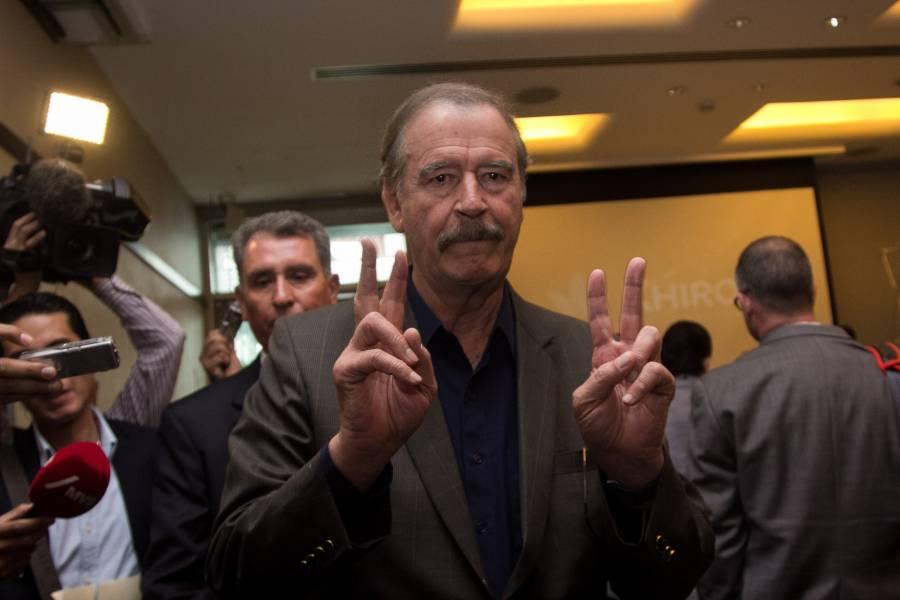 Vicente Fox invita a que se sumen a marcha anti AMLO
