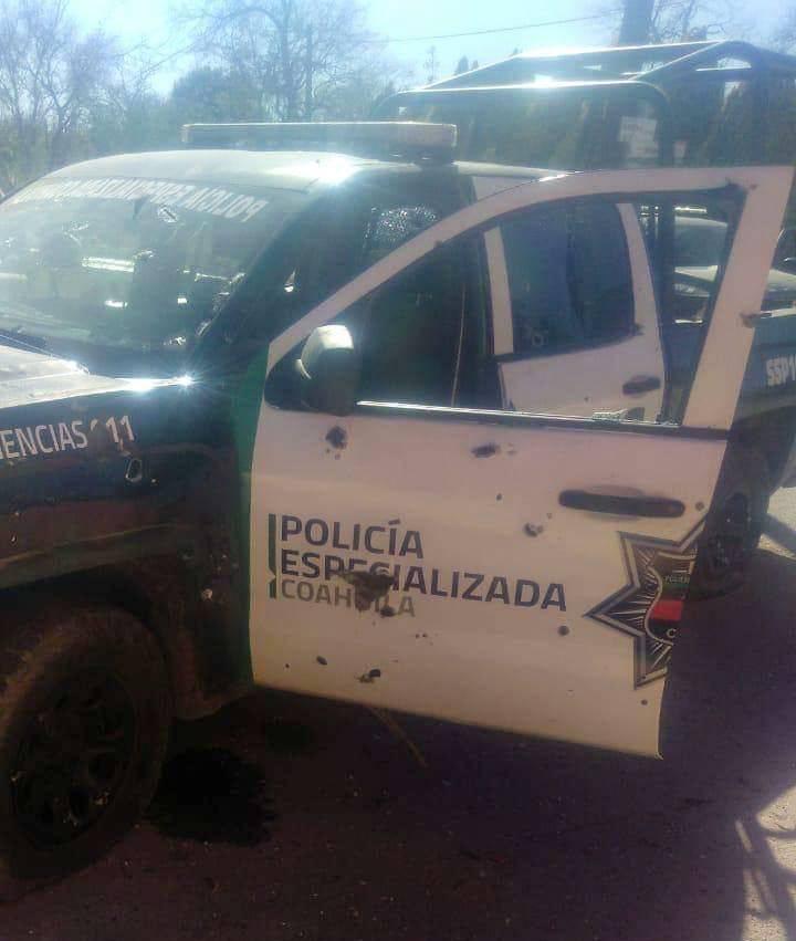Enfrentamiento deja civiles y policías muertos en Coahuila