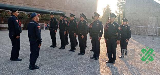 En marcha operativo para ceremonia del primer año de gobierno de AMLO