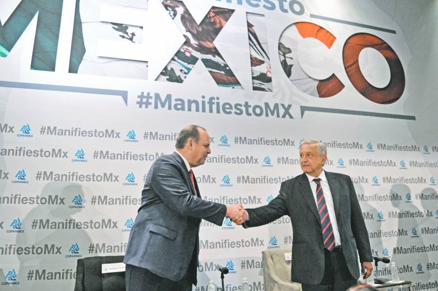 Coparmex aplaude finanzas, reclama PIB y consumo