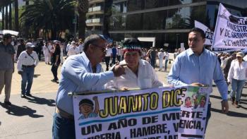 Juanito califica de delincuente y traidor a López Obrador