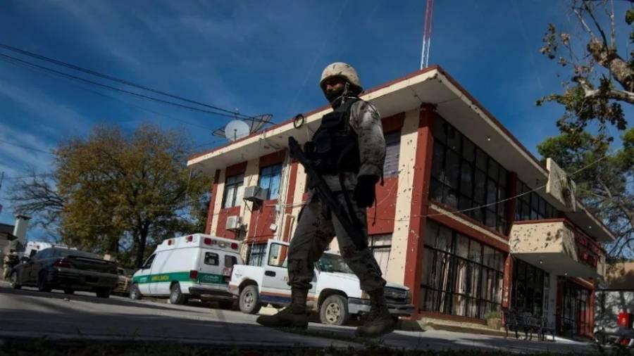 Instalan base de la Guardia Nacional en Villa Unión, Coahuila