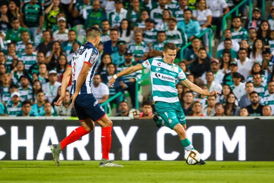 Monterrey apaga el milagro de Santos y accede a semifinales