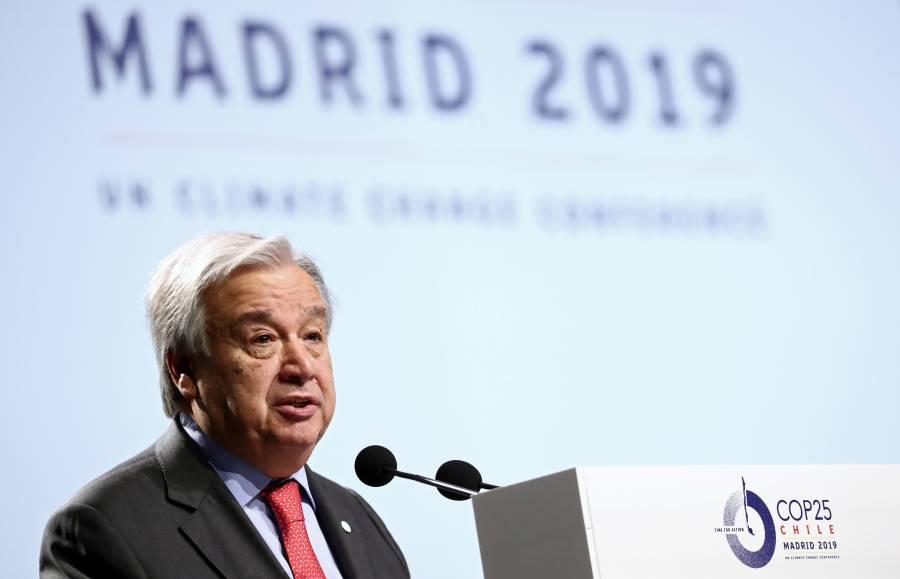 Inicia cumbre COP25 en Madrid; buscan fortalecer Acuerdo de París