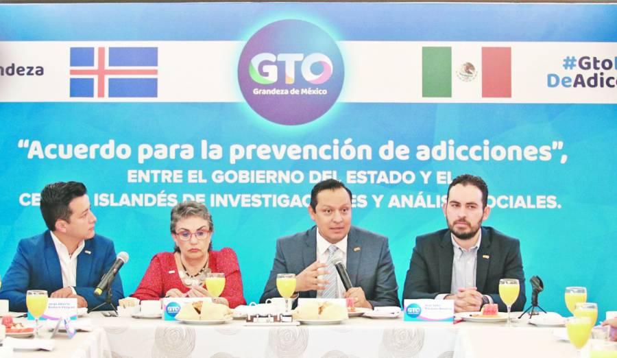 Guanajuato hace alianza para combatir adicciones