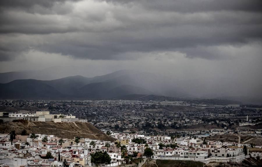 Un día de caluroso a frío en el Valle de México