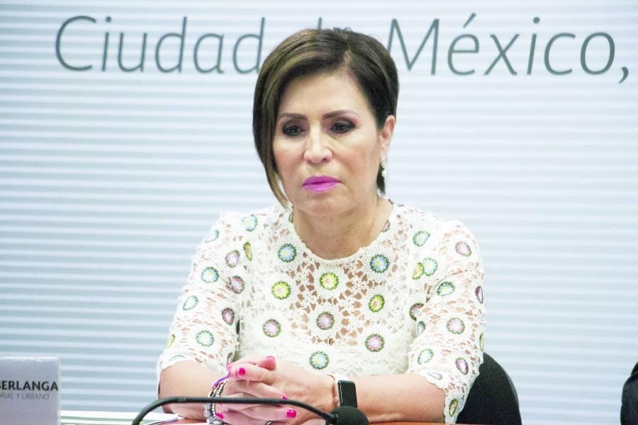 Notifican a Rosario Robles sobre su juicio político