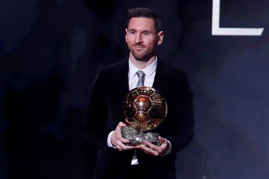 Lionel Messi obtiene el sexto Balón de Oro de su carrera