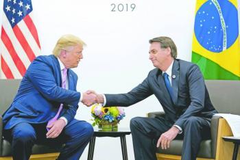 Trump impone aranceles al acero  y al aluminio de Brasil y Argentina