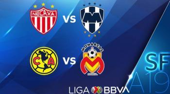 Listos los horarios de las semifinales de la Liga MX