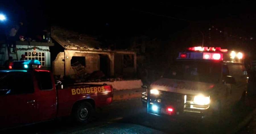 Explota polvorín en Veracruz y ocasiona dos muertos