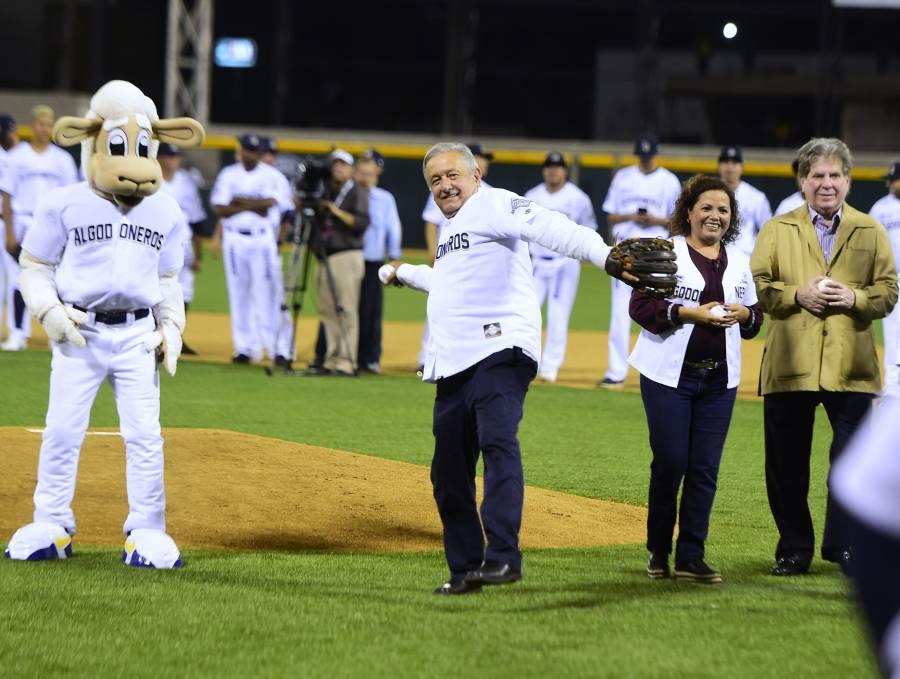 Participará AMLO en juego de estrellas de béisbol