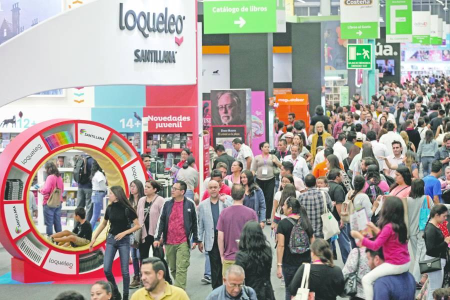 España domina negocio editorial en la 33 FIL de Guadalajara
