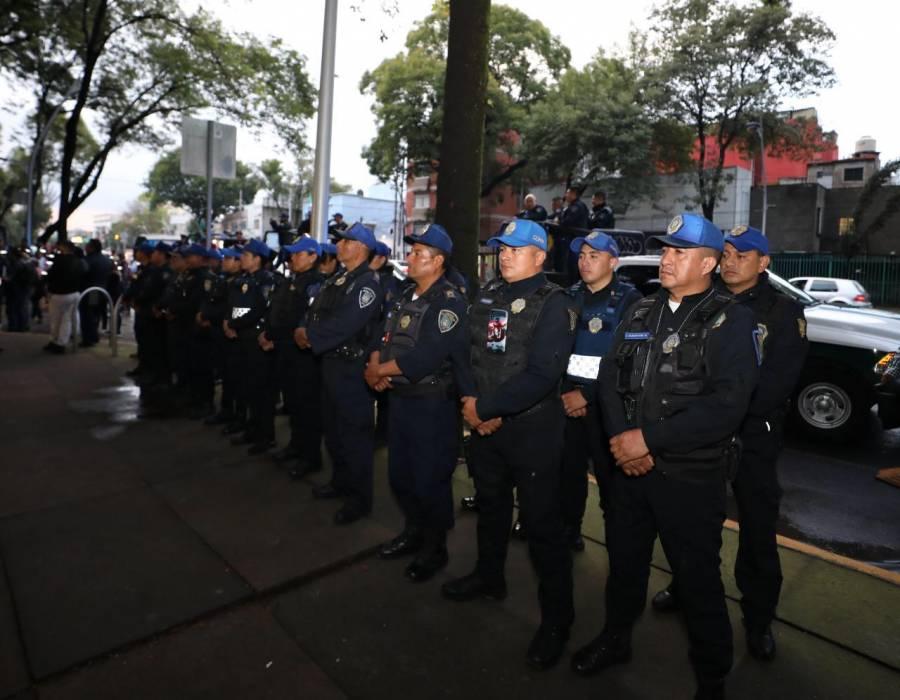 Arranca operativo navideño de seguridad en Miguel Hidalgo